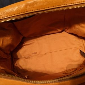 Fossil Sidney Leather Satchel